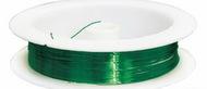 Проволока на катушке 09Е04 d0,3мм *10м, (зеленый)