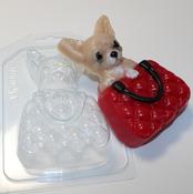 Пластиковая форма для мыла Чихуахуа