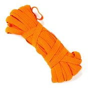 Резинка 7-8мм цв.оранжевый, 1 м