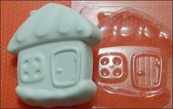 Пластиковая форма для мыла 172 - Домик