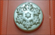 Пластиковая форма для мыла 199 - Снежинка 1