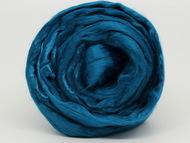 Шерсть для валяния (вискоза) 50г цв.2000 синее море