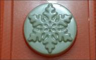 Пластиковая форма для мыла 201 - Снежинка 3