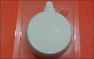 Пластиковая форма для мыла 225 - Новогодний шар п/к