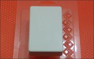 Пластиковая форма для мыла 229 - Брусок мини