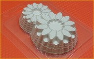 Пластиковая форма для мыла 246 - 8 Марта ажур