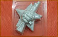 Пластиковая форма для мыла 255 - Защитник