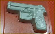 Пластиковая форма для мыла 273 - Пистолет