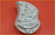Пластиковая форма для мыла 334 - Ёлка волна