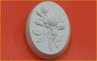 Пластиковая форма для мыла 346 - Веточка розы
