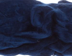Шерсть для валяния 100% вискоза, 50гр. (3609 синий)
