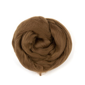 Шерсть для валяния (100% австралийский меринос) 18мкм 50г 3806 коричневый