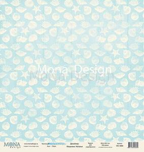 Бумага для скрапбукинга Лист Sea 30х30 см