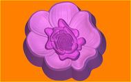 Пластиковая форма для мыла 403 - Цветок