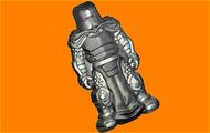 Пластиковая форма для мыла 451 - Рыцарь