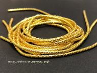Канитель фигурная солнечное золото (yellow gold) 2 мм 5 гр