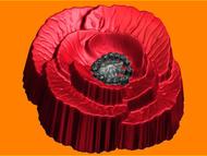 Пластиковая форма для мыла 558 - Мак