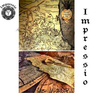Декупажная карта Impressio  6043