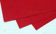 Фетр листовой жесткий  1мм 20х30см арт.FLT-H1 темно-красный цв.607