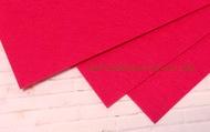 Фетр листовой жесткий  1мм 20х30см арт.FLT-H1 темно-розовый цв.609