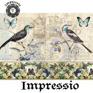 Декупажная карта Impressio  6119