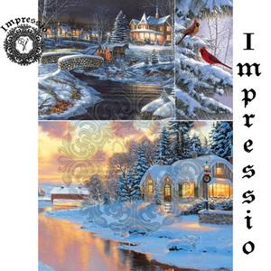 Декупажная карта Impressio  6151