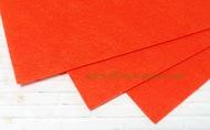 Фетр листовой жесткий  1мм 20х30см арт.FLT-H1 темно-оранжевый цв.628