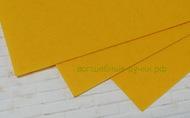 Фетр листовой жесткий  1мм 20х30см арт.FLT-H1 желтый цв.640