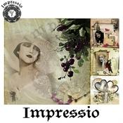 Декупажная карта Impressio  6910