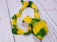 Капрон SF-774 желтый/зеленый примерно 80 см
