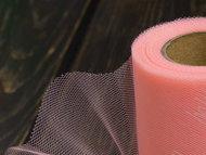 Фатин 15 см (SF-603) розовый персик №17 1 м
