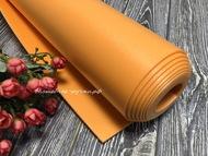 Изолон для цветов ППЭ 2 мм оранжевый 0,75х1 м