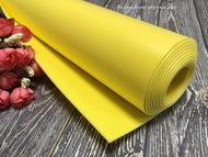Изолон для цветов ППЭ 2 мм желтый 0,75х1 м