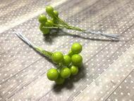 Ягодки зеленые 10 шт