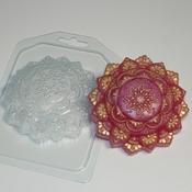 Пластиковая форма для мыла Индийский орнамент