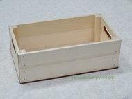 Ящик деревянный с прорезями для ручек 250х140х84 мм