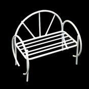 K9018 Металлическая скамейка 8*8*6см