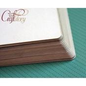 Пивной картон с закругленными углами 20 х 20 см 1,5 мм PKZ0016