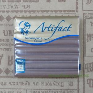 """144 Полимерная глина """"Артефакт"""" брус 56 гр.  классический Какао"""