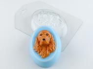 Пластиковая форма для мыла Коккер-спаниель