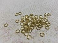 Соединительное кольцо цв. золото 0,5мм, 10 шт