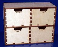 Комод 4 ящика большой 20х15х8см