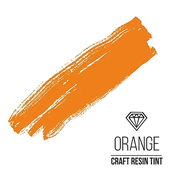 Краситель для смолы и полимеров CraftResinTint,Оранжевый, 10мл (1шт)