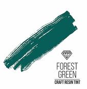 Краситель для смолы и полимеров CraftResinTint, Лесной зеленый, 10 мл (1шт)
