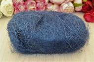 Сизаль волокно 100 гр синий