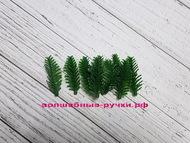 Еловая лапка, 5 см темно-зеленый 10 шт