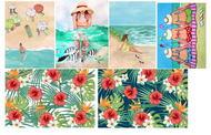 Картинки водорастворимые Лето