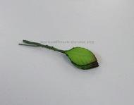 Листья розы Зеленые 30х15мм 10 шт.
