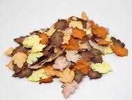Листья шиповника без стебельков - Коричневый микс  3,5х2,5 см 20 шт