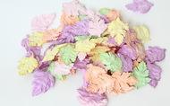 Листья шиповника без стебельков Микс Пастель 3,5х2,5 см 20 шт